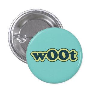 wOOt Lolcat Speak Flair Pinback Button