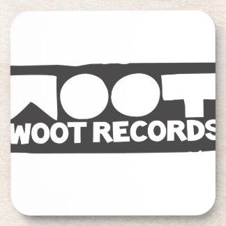 Woot Records Stuff Beverage Coaster