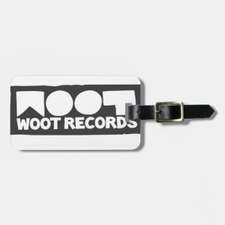 Woot Records Stuff Tags For Bags