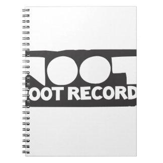 Woot Records Stuff Notebooks