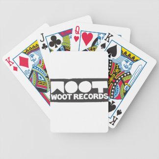 Woot Records Stuff Poker Deck