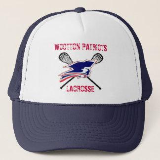 WOOTTON PATRIOTS, LACROSSE TRUCKER HAT
