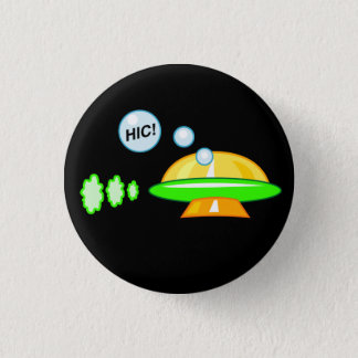 Woozy UFO 3 Cm Round Badge