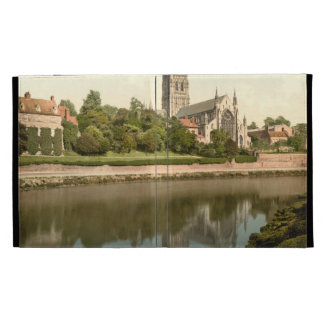 Worcester Cathedral, Worcestershire, England iPad Folio Cases