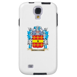 Worcester Coat of Arms - Family Crest Galaxy S4 Case