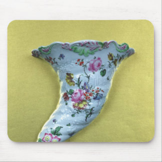 Worcester cornucopia wall pocket, c.1760 mouse pad