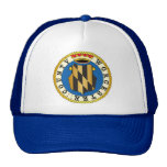 Worcester County seal Trucker Hats