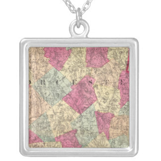 Worcester County Silver Plated Necklace