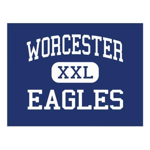 Worcester - Eagles - Vocational - Worcester Post Card