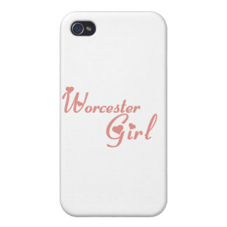 Worcester Girl tee shirts Case For iPhone 4