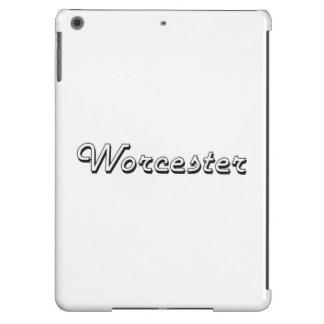 Worcester Massachusetts Classic Retro Design iPad Air Covers