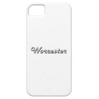 Worcester Massachusetts Classic Retro Design iPhone 5 Case