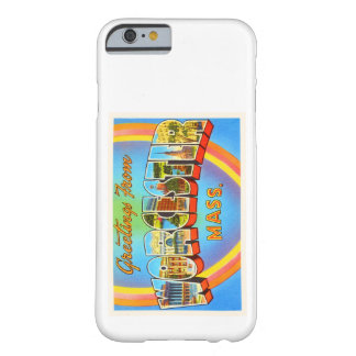 Worcester Massachusetts MA Vintage Travel Souvenir Barely There iPhone 6 Case