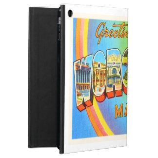 Worcester Massachusetts MA Vintage Travel Souvenir iPad Air Case