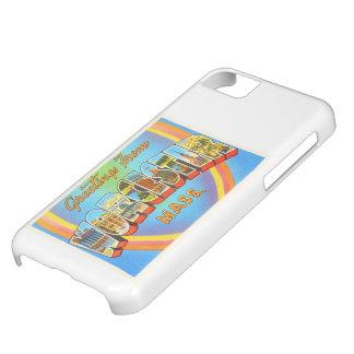 Worcester Massachusetts MA Vintage Travel Souvenir iPhone 5C Case