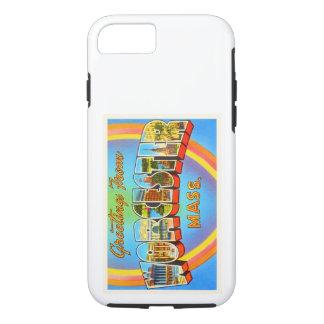 Worcester Massachusetts MA Vintage Travel Souvenir iPhone 7 Case
