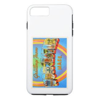 Worcester Massachusetts MA Vintage Travel Souvenir iPhone 7 Plus Case