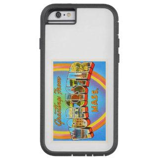 Worcester Massachusetts MA Vintage Travel Souvenir Tough Xtreme iPhone 6 Case
