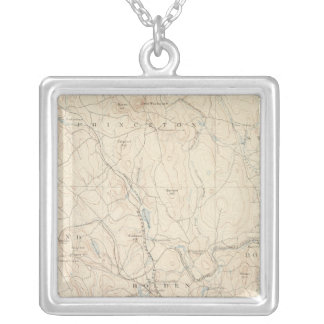 Worcester, Massachusetts Silver Plated Necklace