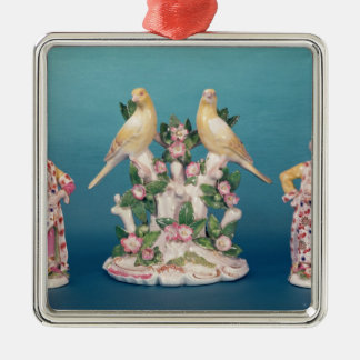 Worcester of Turk and his companion with birds Christmas Ornament