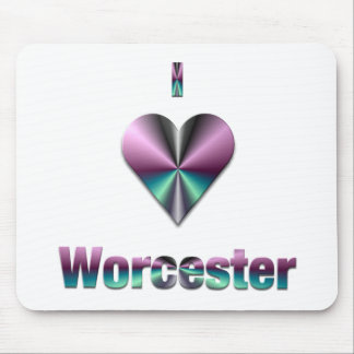 Worcester -- Purple & Turquoise Mousepads