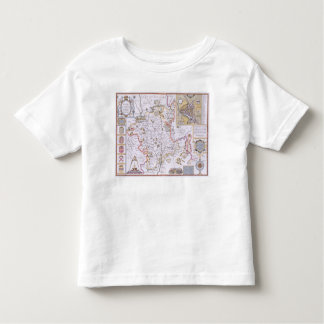 Worchestershire, engraved by Jodocus Hondius Toddler T-Shirt