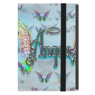 Word Art Angel with Wings & Halo iPad Mini Case