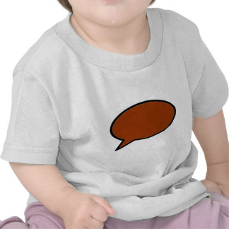 Word Bubble Left Brown The MUSEUM Zazzle Gifts Tees