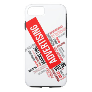 word cloud - advertising iPhone 7 case
