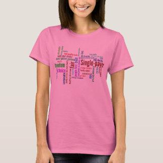 Word Cloud L-SL T-shirt