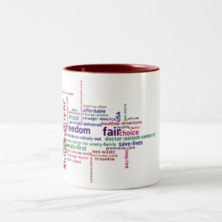 Word Cloud Mug