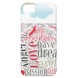 Word Cloud Phone Case iPhone 5 Cases