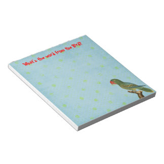 Word from the Bird Memo Note Pads