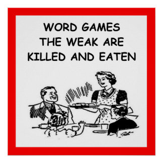 word games poster