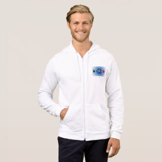 Word Italy over the European Union flag Hoodie