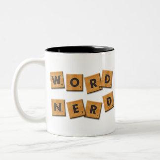 Word Nerd Tiles Mug