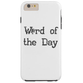 Word of the Day Podcast iPhone 6/6s Phone Case