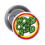 Word of the Nerd Button