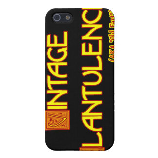 Word Play: Vintage Flatulence Cover For iPhone 5/5S