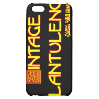 Word Play: Vintage Flatulence Cover For iPhone 5C