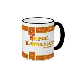 Word Play: Vintage Flatulence Ringer Mug