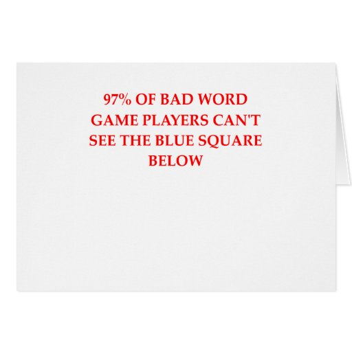 WORD.png Greeting Cards