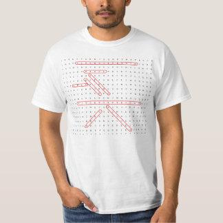 Word Search Geek Tshirts