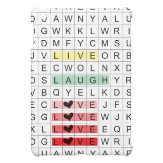 Word Search Love iPad Mini Cases