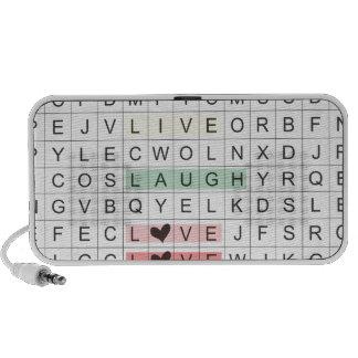 Word Search Love Speaker