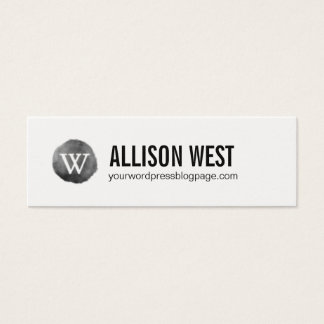 Wordpress Webpage Networking Card