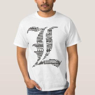 words come L Tshirt