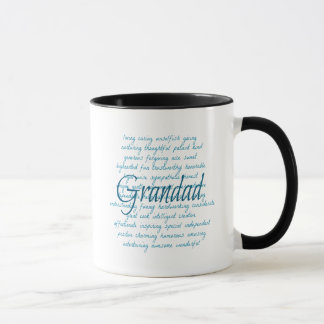 Words for Grandad Mug