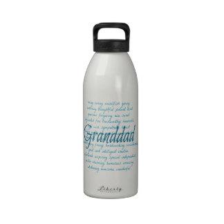 Words for granddad in Blue Water Bottles