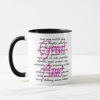 Words for Great Aunt Mug